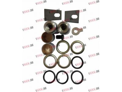 Ремкомплект тормозных колодок F FAW (ФАВ) 016.116-00 для самосвала фото 1 Кострома