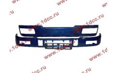 Бампер C синий верхний+нижний (в сборе) фото Кострома